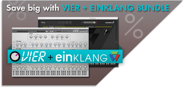 Save big with VIER + EINKLANG bundle